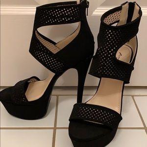 NWOT Black High Heels